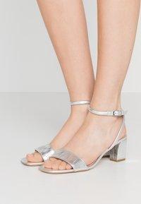 sandro - Sandals - argent - 0