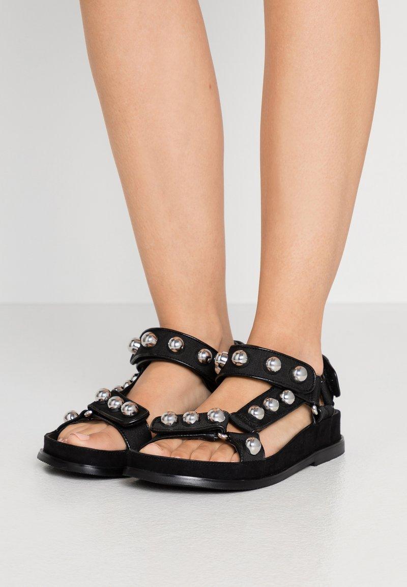 sandro - Sandals - noir
