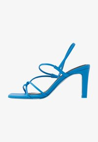 sandro - High heeled sandals - bleu - 1