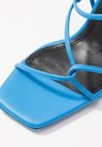 sandro - High heeled sandals - bleu - 2