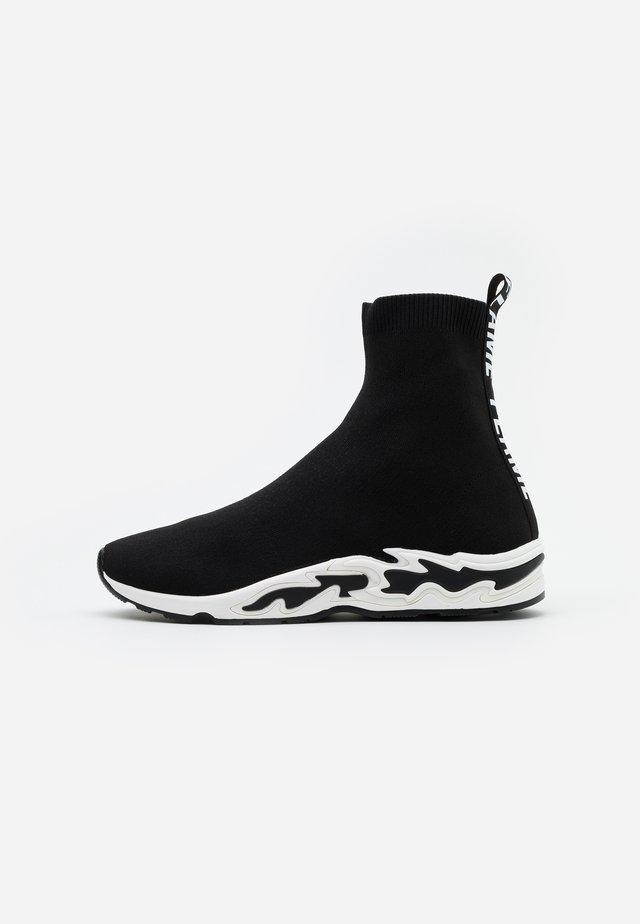 Sneakers high - noir