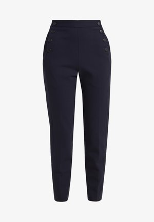 BRIDGE - Trousers - black