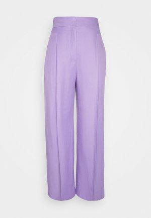 Trousers - parme