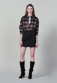 sandro - JANNE - Minikjol - black - 0