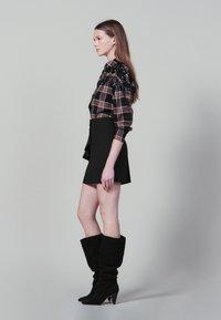 sandro - JANNE - Minikjol - black - 1
