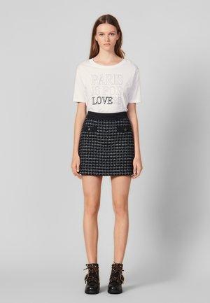 GIOLI - Mini skirt - navy