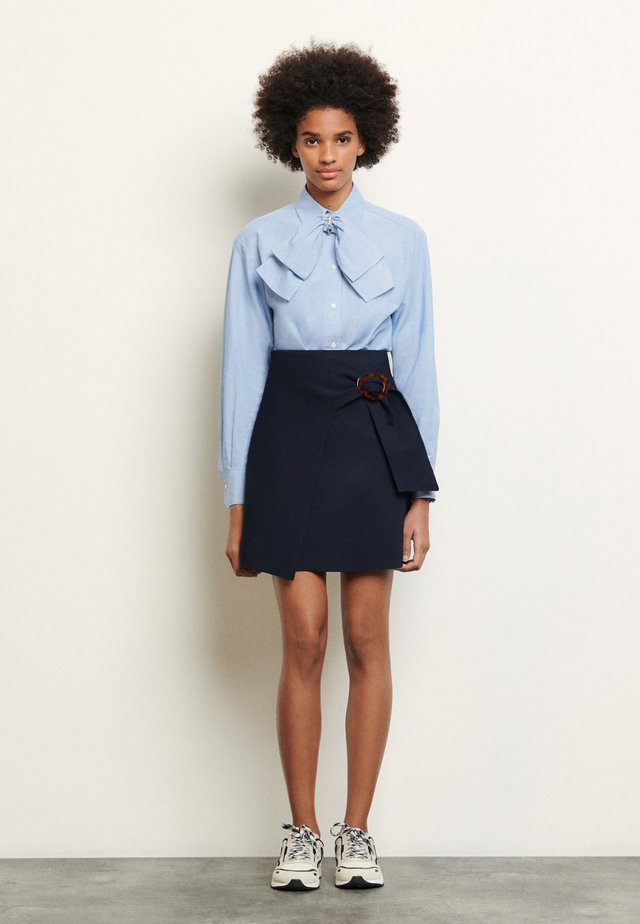 PASSY - Mini skirt - marine