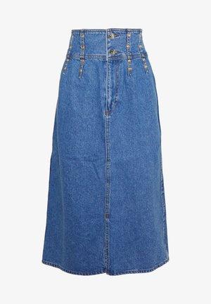 A-snit nederdel/ A-formede nederdele - bleu