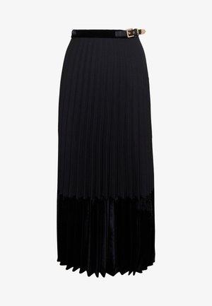 VELNA - A-lijn rok - noir
