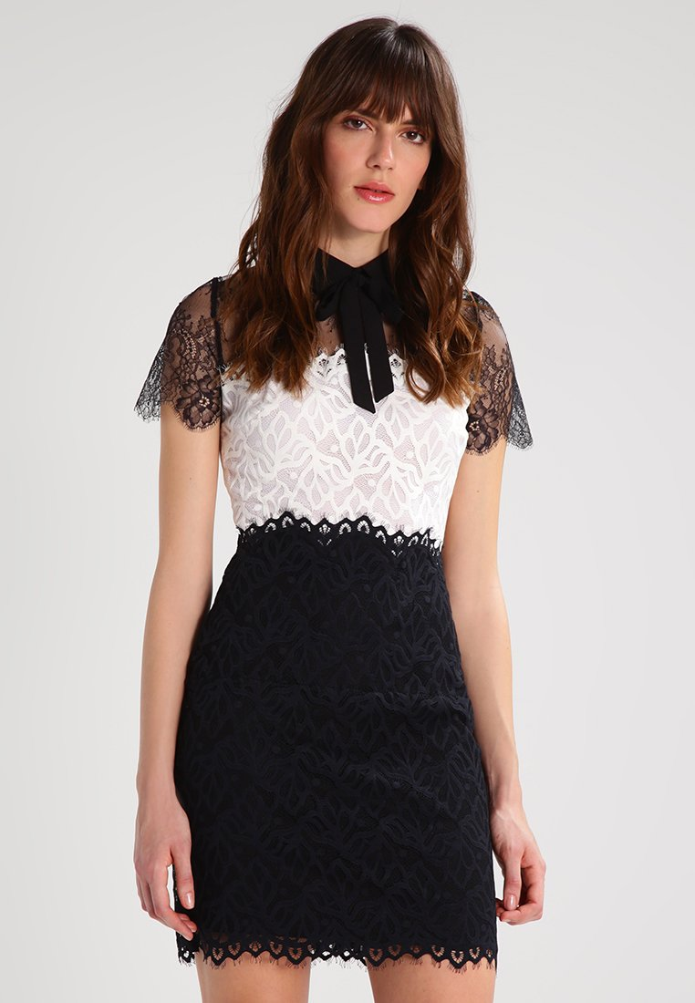 sandro - Shift dress - ecru