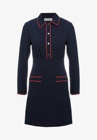 sandro - Robe chemise - navy - 0