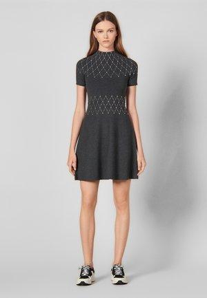SHOWN - Jumper dress - mocked grey