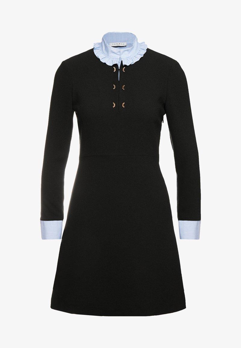 sandro - Skjortekjole - black