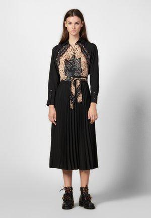 STENIA - Skjortklänning - black