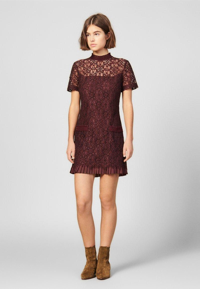 sandro - Cocktail dress / Party dress - plum