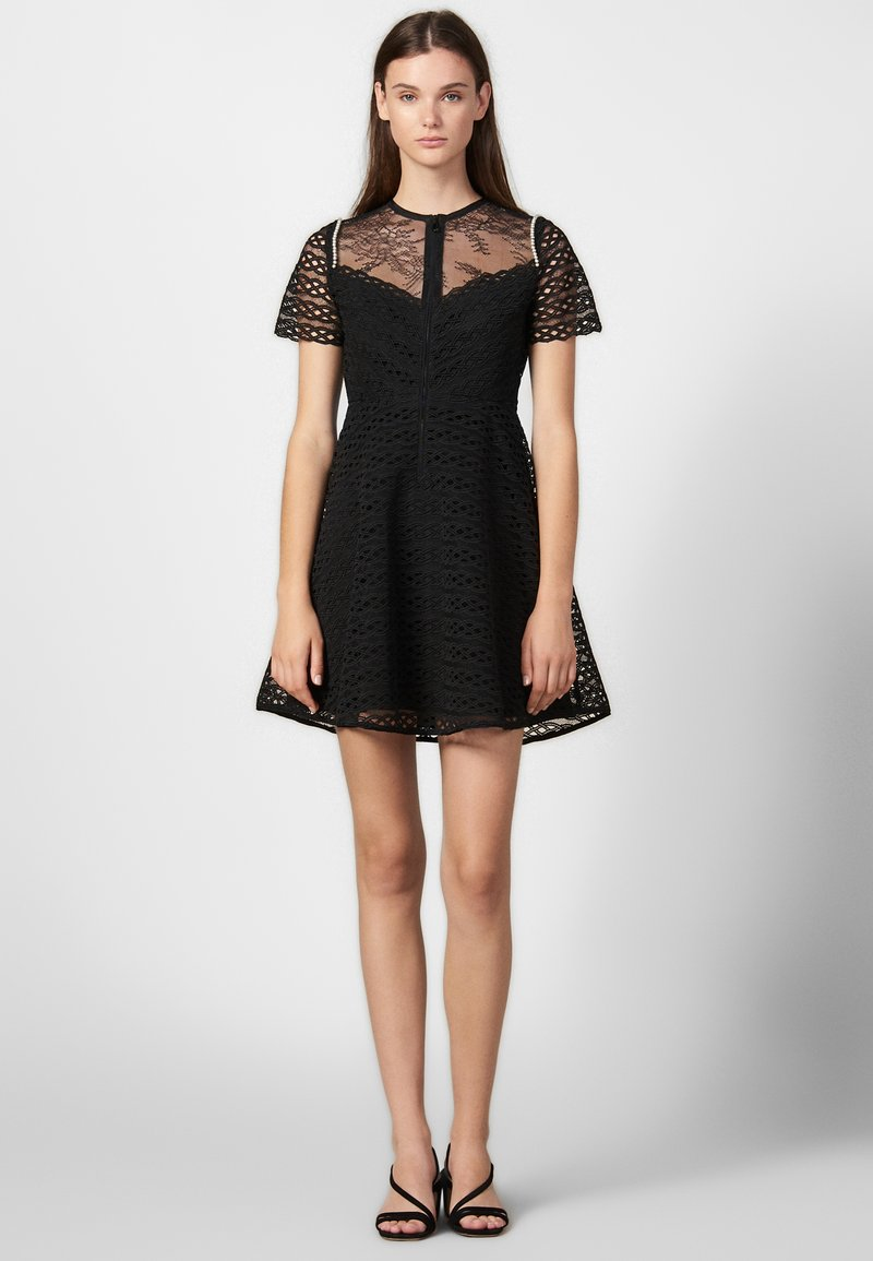 sandro - Day dress - black