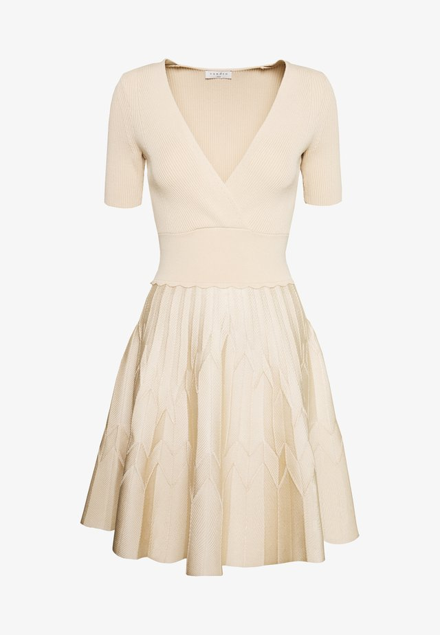 ESPERA - Jumper dress - beige