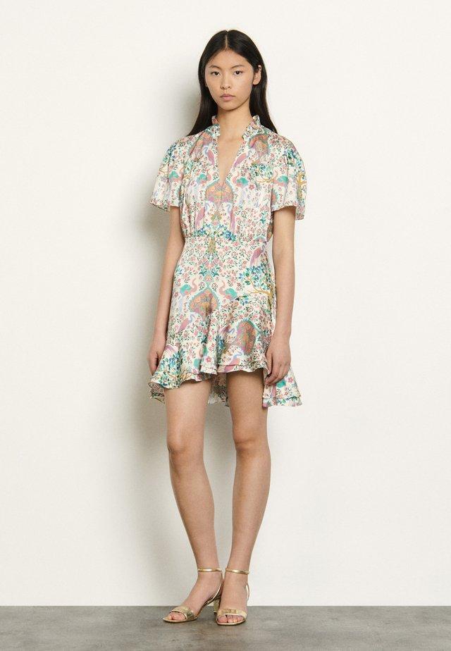 Korte jurk - ivoire