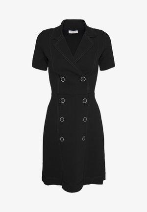 SYANA - Robe chemise - noir