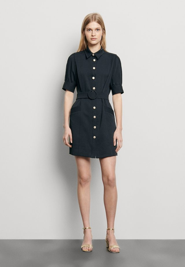Sukienka koszulowa - marine