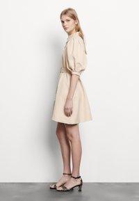 sandro - Shirt dress - beige - 1
