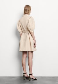 sandro - Shirt dress - beige - 2