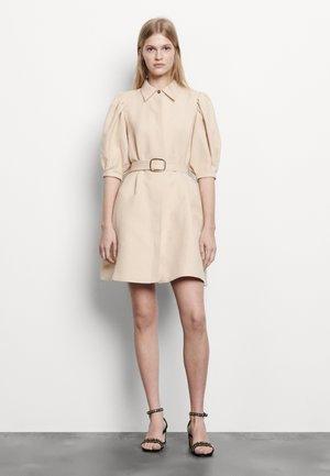 Skjortklänning - beige