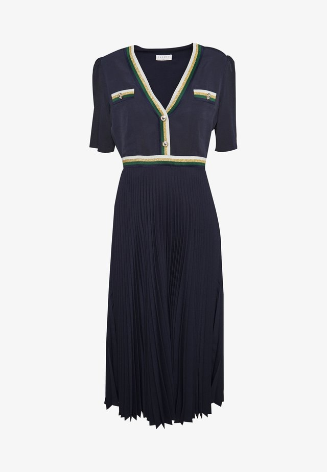 CRUISE - Skjortklänning - marine