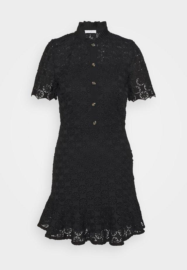 0FELIA - Sukienka koszulowa - noir