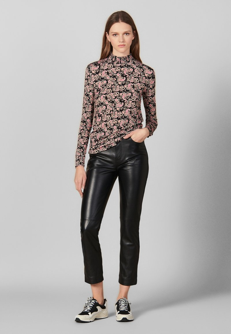 sandro - FIDELA - Long sleeved top - black