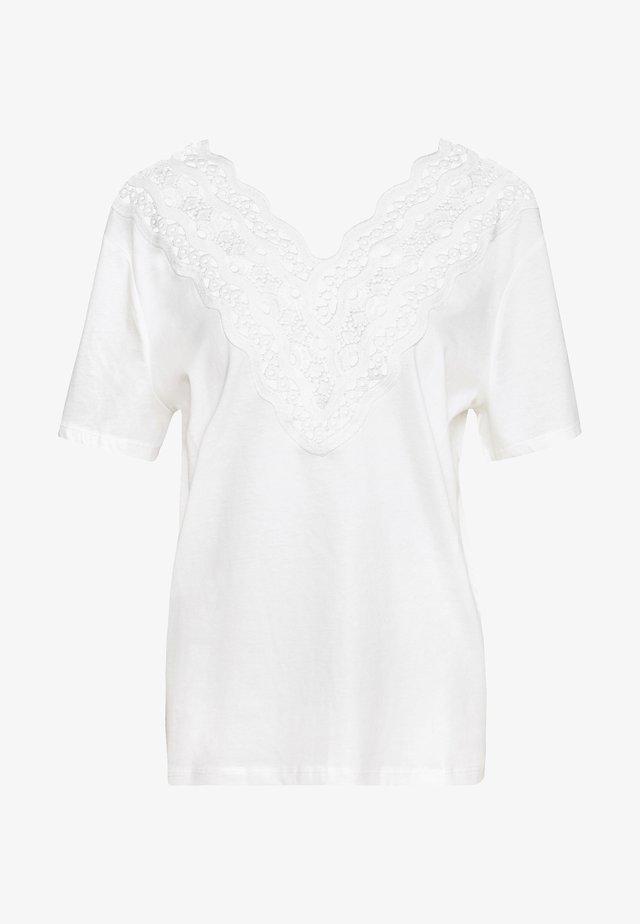 T-shirts print - blanc