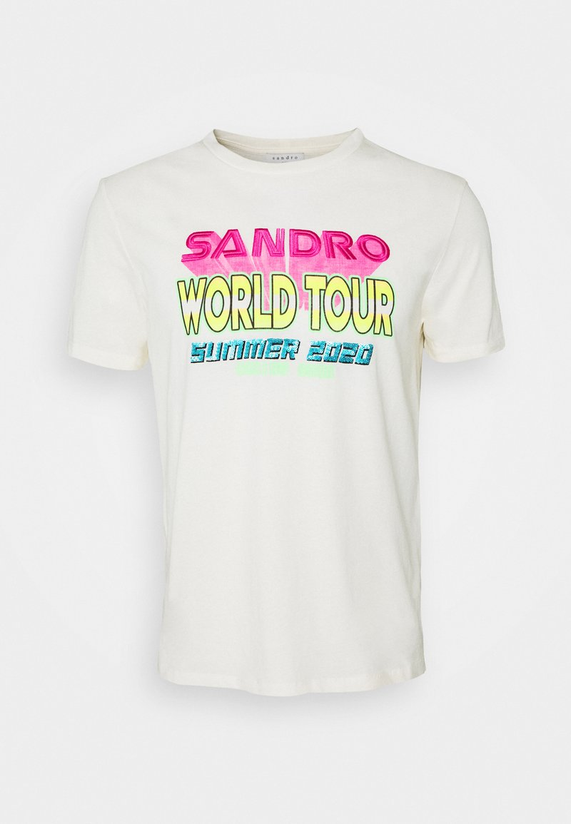sandro - T-shirts print - coquille
