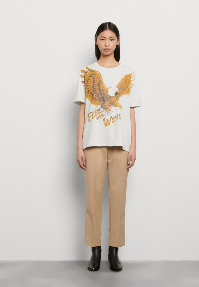 EAGLE - T-shirts print - gris
