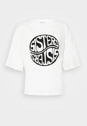 SISTY - T-shirts print - blanc