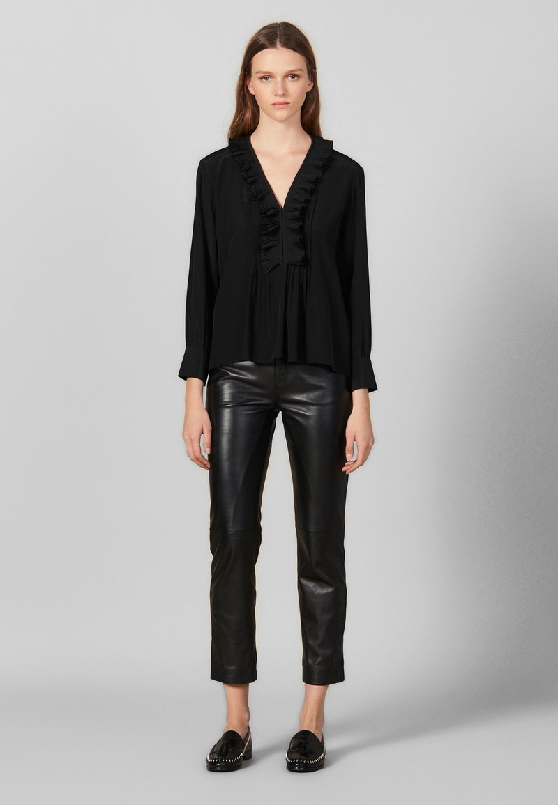 sandro - Blouse - black