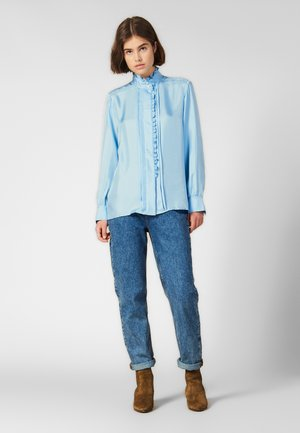 JEWLLS - Button-down blouse - sky blue