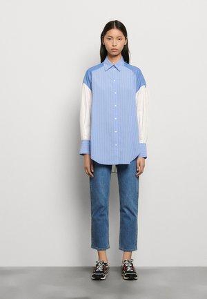 KIM - Overhemdblouse - bleu/blanc