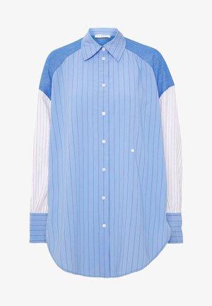 KIM - Skjorta - bleu/blanc
