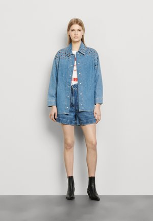 RUBBY - Button-down blouse - bleu jean