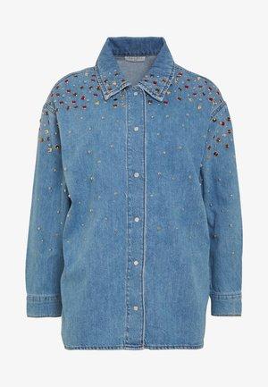 RUBBY - Button-down blouse - bleu jean