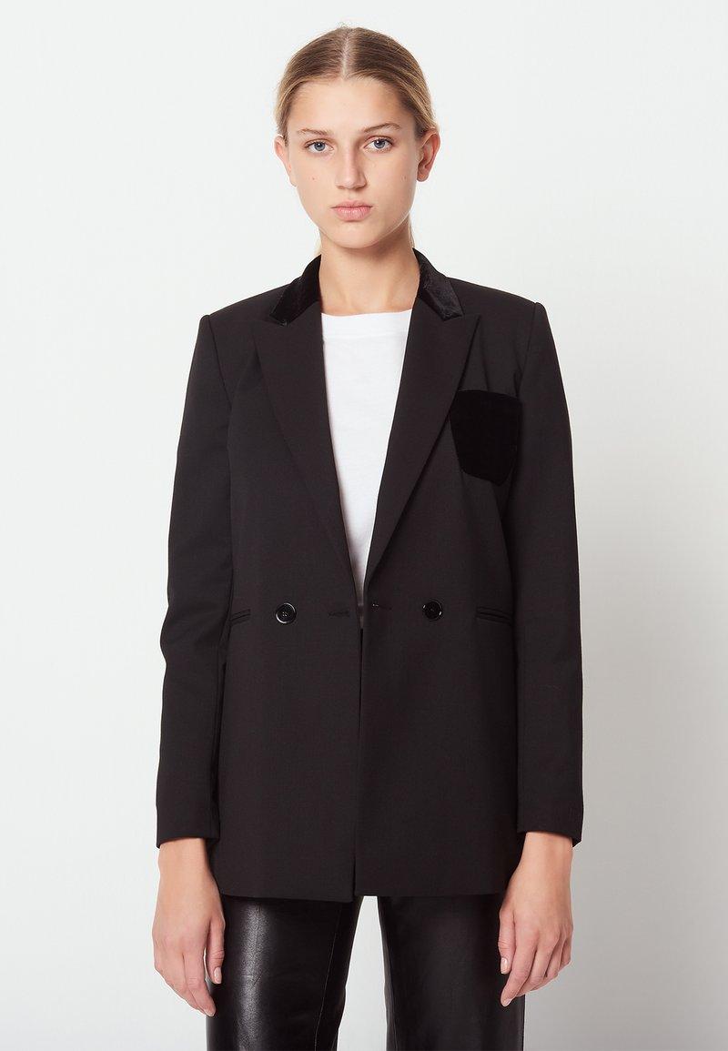 sandro - NICKY - Blazer - black