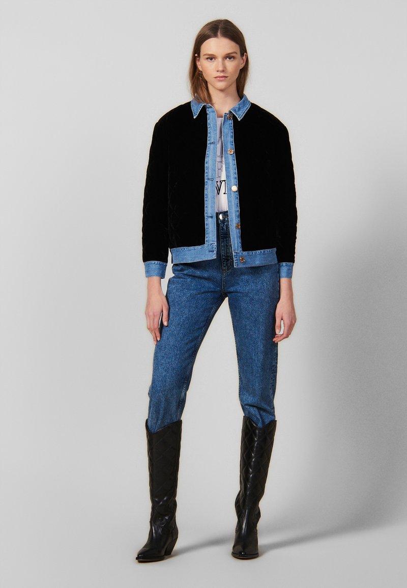 sandro - Light jacket - black