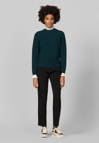 sandro - Stickad tröja - green - 0