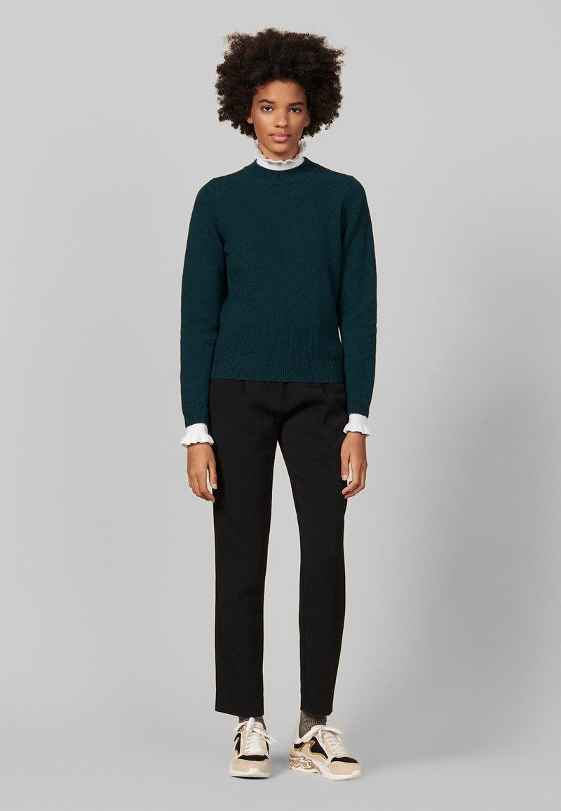 sandro - Stickad tröja - green