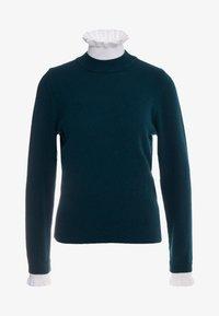 sandro - Stickad tröja - green - 3