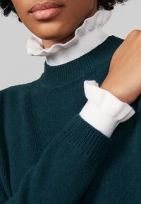 sandro - Stickad tröja - green - 4