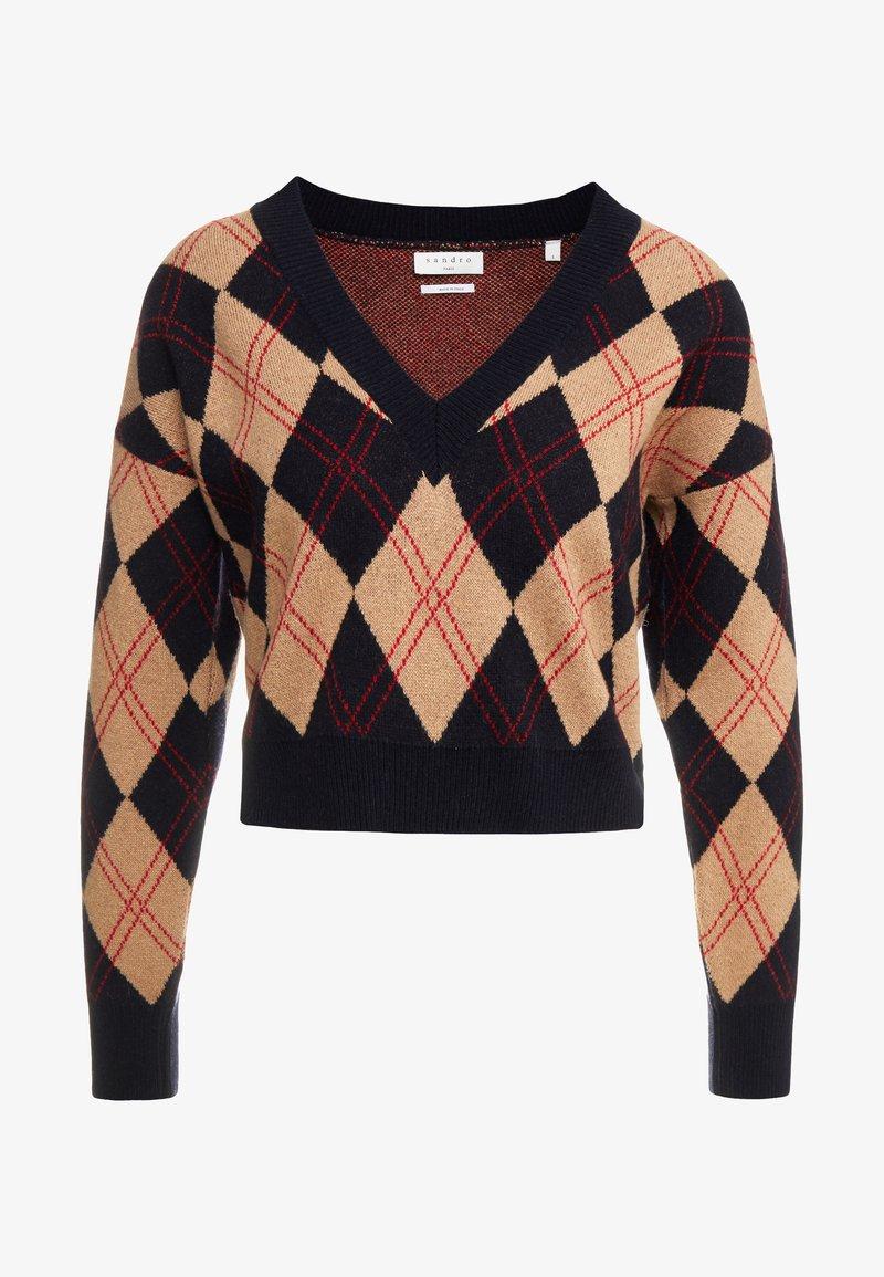 sandro - Stickad tröja - multicolor