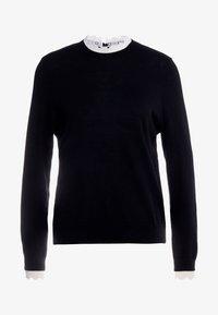 sandro - Stickad tröja - black - 0