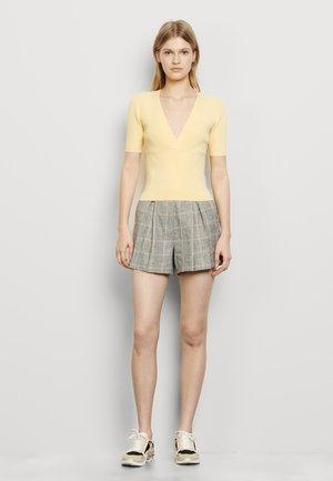 SHERYL - T-shirt imprimé - jaune