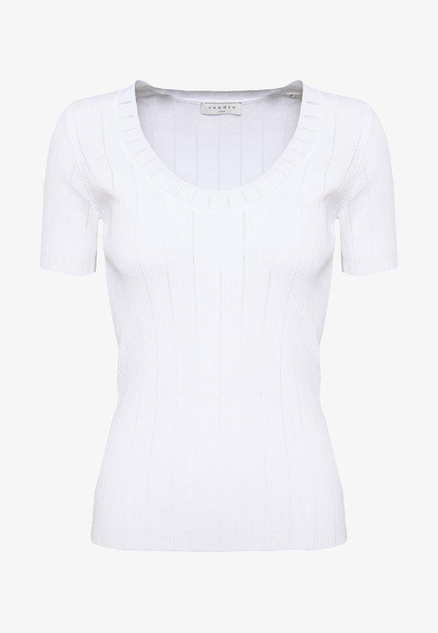 T-shirts basic - blanc